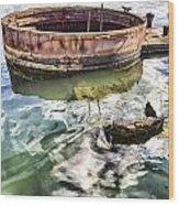 Uss Arizona Memorial- Pearl Harbor V7 Wood Print
