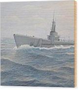 USS Jallao  Wood Print