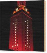 Ut Tower 1 Wood Print