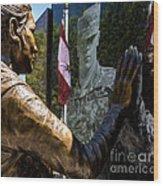Utah Freedom Memorial Wood Print