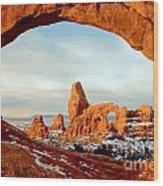 Utah Golden Arches Wood Print