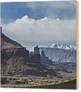 Utah Landscape Wood Print