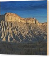 Utah Outback 40 Panoramic Wood Print