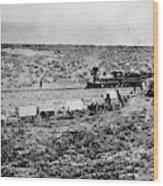 Utah Railroad, 1869 Wood Print