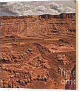 Utah Rocks Wood Print