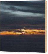 Utah Sunset  Wood Print