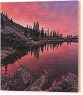 Utah's Cecret Wood Print