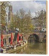 Utrecht Wood Print