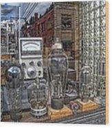 Vacuum Tubes And Diodes - Wallace Idaho Wood Print