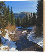 Vail Colorado Wood Print