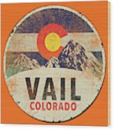 Vail Wood Print