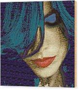 Vain 2 Wood Print by Tony Rubino