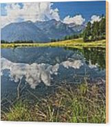 Val Di Sole - Covel Lake Wood Print