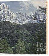 Val Gardena Wood Print