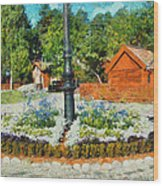 Valby Square Wood Print