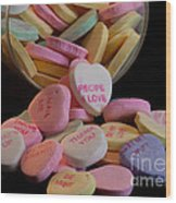 Valentine Candy 5 Wood Print