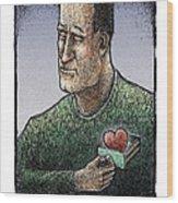 Valentine Wood Print