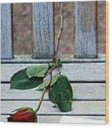 Valentine Rose. Wood Print