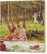 Valentines Day, 1883 Wood Print