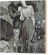 Valentines Day, 1898 Wood Print