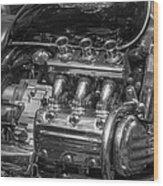 Valkyrie Power Wood Print