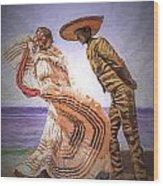 Vallarta Dancers Wood Print