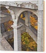 Valley Bridge 3 Wood Print