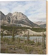 Valley Crossing - Yoho National Park, British Columbia Wood Print