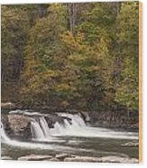 Valley Falls Scene 1 Wood Print