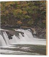 Valley Falls Scene 2 Wood Print