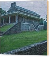 Valley Forge Station Wood Print