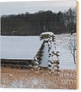 Valley Forge Winter 10 Wood Print
