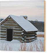 Valley Forge Winter 2 Wood Print