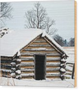 Valley Forge Winter 3 Wood Print