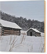 Valley Forge Winter 7 Wood Print