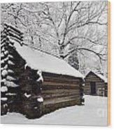 Valley Forge Winter 9887 Wood Print