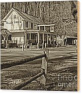 Valley Green Inn 2 Wood Print