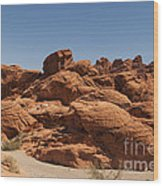 Valley Of Fire 1 Wood Print