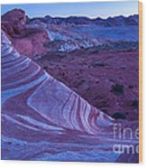 Valley Of Fire - Fire Wave 2 - Nevada Wood Print
