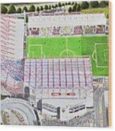 Valley Parade Stadia Art - Bradford City Fc Wood Print