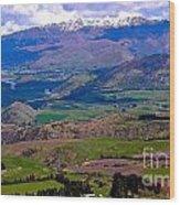 Valley Views Wood Print