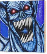 Vampbat Wood Print