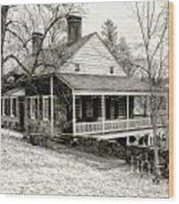 Van Cortlandt Manor Wood Print