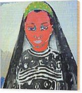Van Dongen's Saida Wood Print