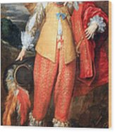 Van Dyck's Henri II De Lorraine Wood Print