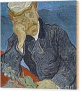 Van Gogh Dr Gachet Wood Print