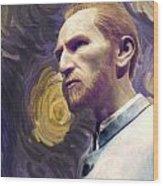 Van Gogh Portrait Wood Print