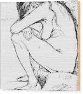 Sorrow, 1882 Wood Print