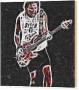 Van Halen-93-mike-gc23-fractal Wood Print