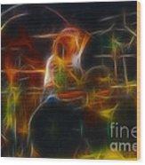 Van Halen-alex-93-gc5-fractal Wood Print